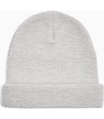 mens black grey and white skater beanie