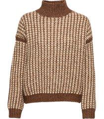 suzannyka stickad tröja brun hugo