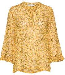 bitta bl blouse lange mouwen geel part two