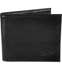 florsheim leather bifold wallet