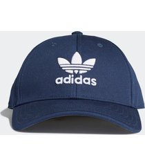 bonã© adidas bonã© trefoil baseball () originals azul - azul - dafiti