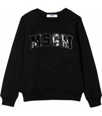 msgm sequins sweatshirt