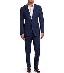 classic-fit greg peak-lapel wool suit