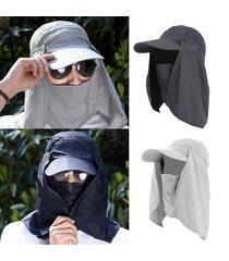 copricapo delle donne degli uomini copertura della protezione del sole di  protezione della protezione del sole c5aabcbab78e