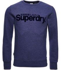 superdry men's core logo sweatshirt