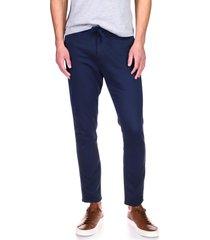 men's dl 1961 men's jay stretch track chino pants, size 34 - blue