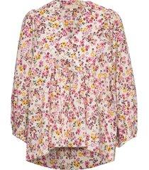 bohemian blouse blouse lange mouwen multi/patroon by ti mo