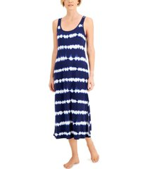 alfani ultra-soft maxi tank nightgown, created for macy's