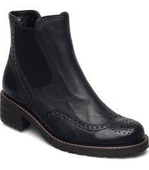 ankle boot shoes boots ankle boots ankle boot - flat svart gabor