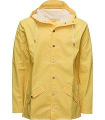 jacket regenkleding geel rains