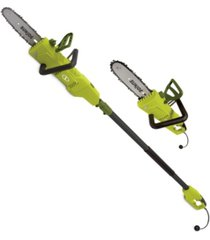 "sun joe swj805e electric convertible pole chain saw 8"" 6.0 amp"