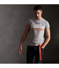 camiseta para hombre vintage logo tri tee superdry