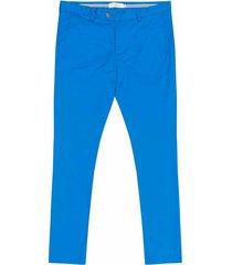 pantalón casual 440 azul bota recta regular fit para hombre 87765