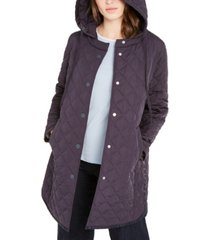 weekend max mara hooded quilted jacket