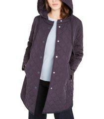weekend max mara hooded quilted jacket