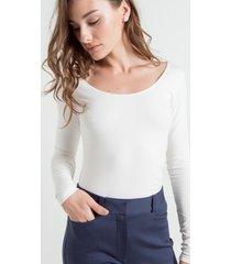 blusa troia off white gg