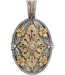 women's konstantino 'hebe' etched locket pendant