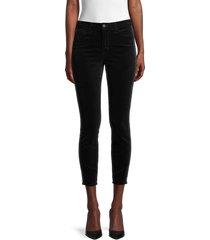 l'agence women's high-rise skinny-fit jeans - noir black - size 23 (00)