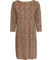 abito di jersey leopardato (marrone) - bodyflirt