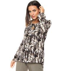 blusa marrón skanda claribel