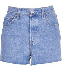 levis super high waist shorts