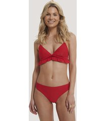 na-kd swimwear bikiniunderdel - red