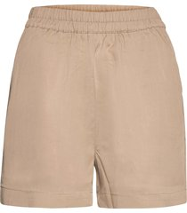 objtilda hw shorts shorts flowy shorts/casual shorts beige object
