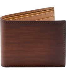 men's magnanni leather wallet - brown