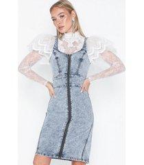noisy may nmcamille s/l button mid dress jt02 fodralklänningar
