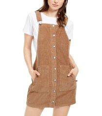 dickies cotton corduroy overall dress
