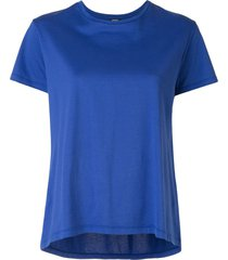 aspesi relaxed fit blouse - blue