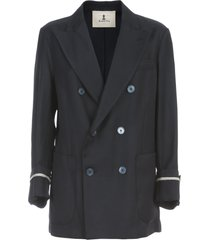 barena riccarda double breasted jacket loose fit