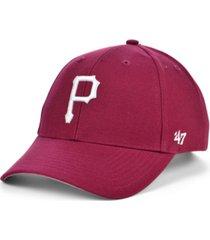 '47 brand pittsburgh pirates cardinal mvp cap