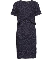 dress-light woven jurk knielengte blauw brandtex