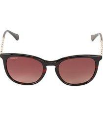 51mm square tortoise shell sunglasses