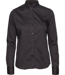 tilda shirt overhemd met lange mouwen zwart mos mosh