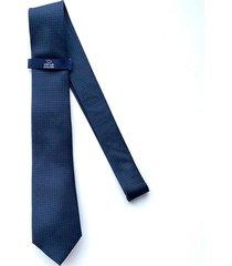 corbata azul oscura oscar de la renta 20aa2169-195