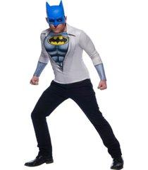 buyseason men's photo real batman costume top
