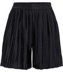 shorts plissettati (nero) - bodyflirt