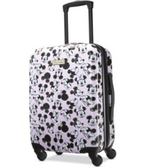 "american tourister disney 20"" carry-on hardside spinner"