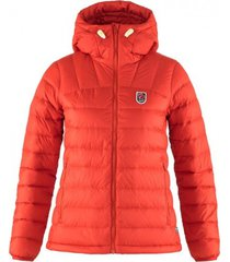 fjällräven jas fjällräven women expedition pack down hoodie true red-s