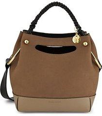 mini maddy leather hobo bag
