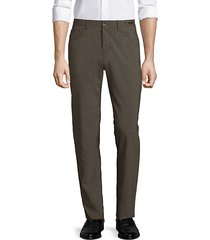 dressy five-pocket techno wool pants