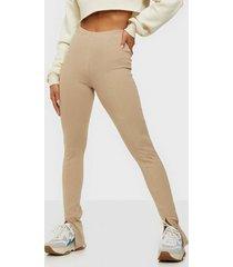 nly trend front slit leggings leggings