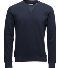sejr sweat-shirt trui blauw minimum
