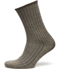 egtved socks wool no elastic , underwear socks regular socks brun egtved