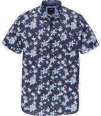 vanguard overhemd kortemouw met print vsis202232/5026 - maat m - maat m - maat m - maat m