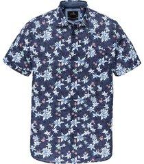 vanguard overhemd kortemouw met print vsis202232/5026