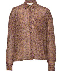 dagrun short blouse lange mouwen roze fall winter spring summer