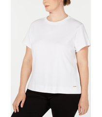 calvin klein plus size cotton t-shirt